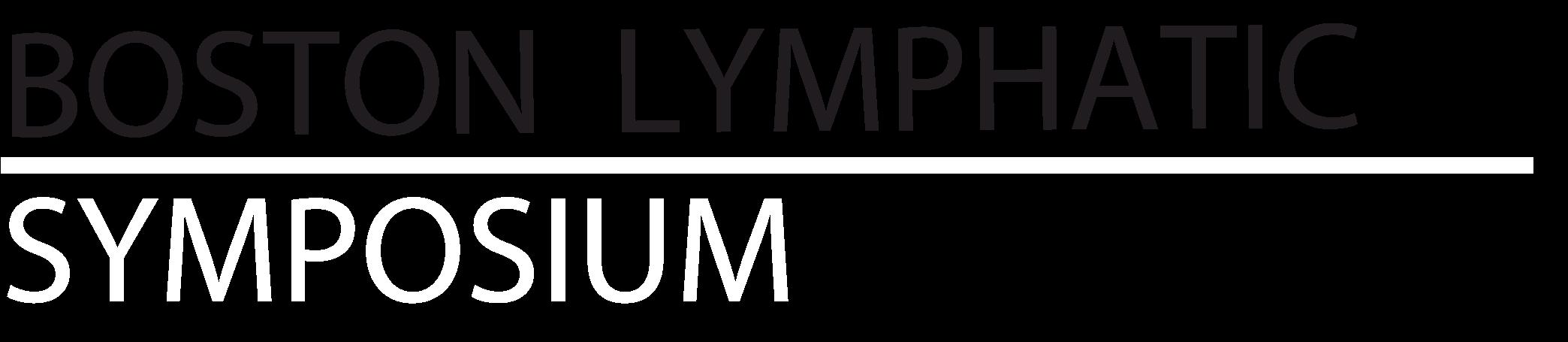 Lymphatic Symposium header BW